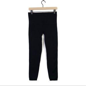 Spanx Black Stretchy Skinny Ankle Leggings Size XL